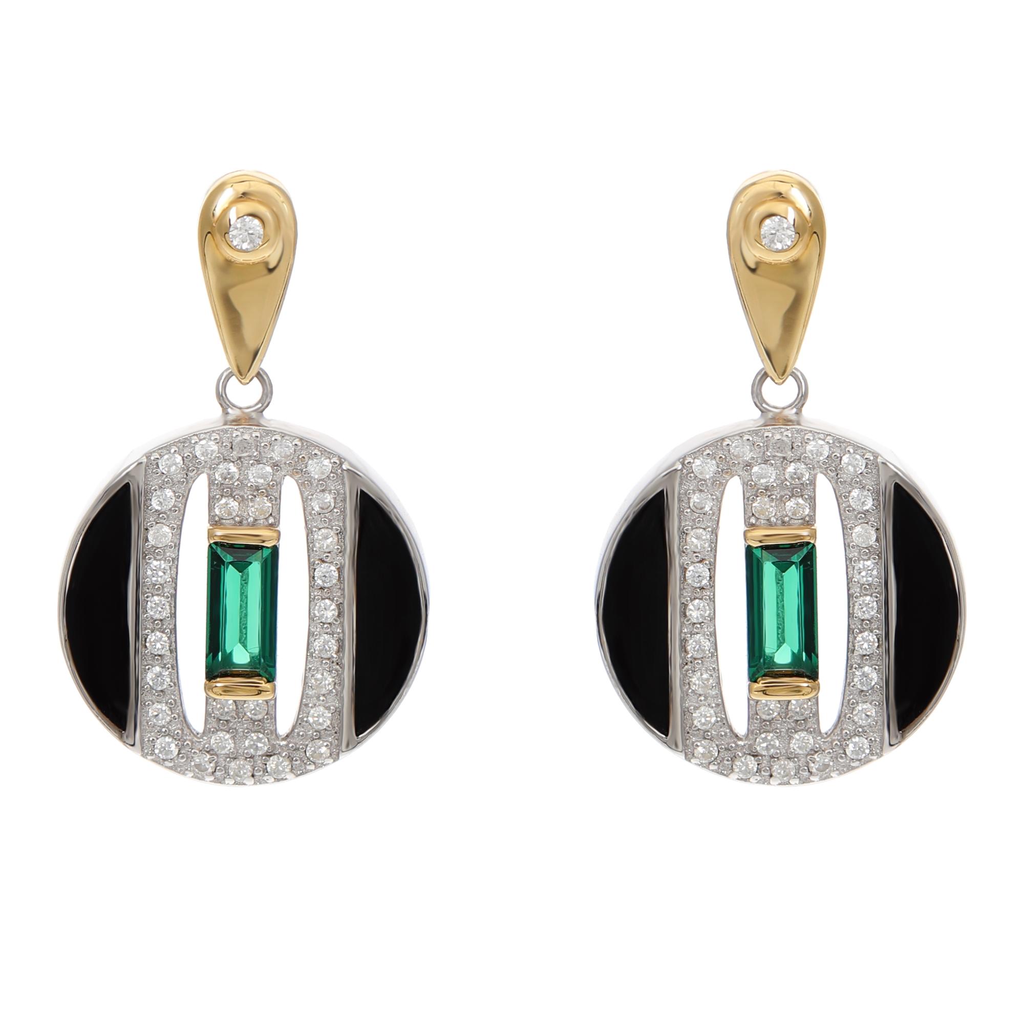 991ba9e5de090 V Jewellery Daphne Earrings